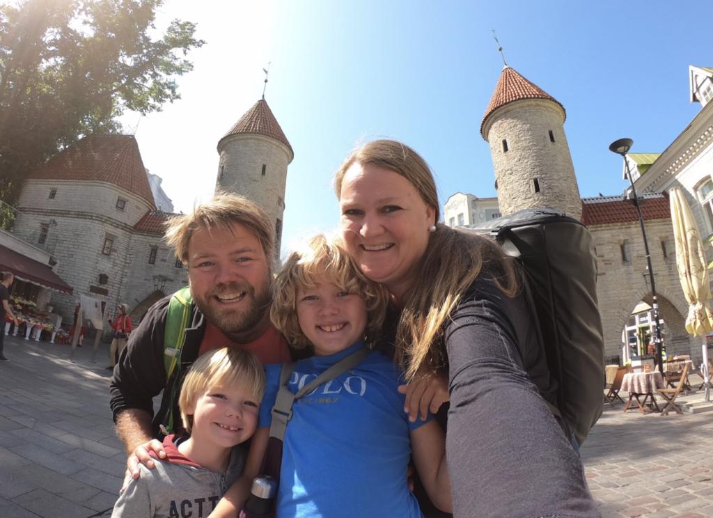 Tilbake til middelalderen i Tallinn