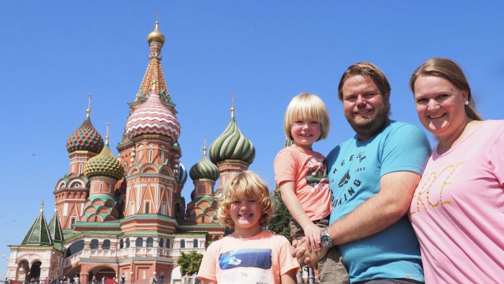 Vårt møte med Moskvas politi