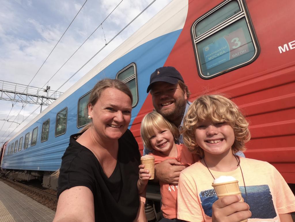 Slik er det å reise med den Transsibirske jernbanen