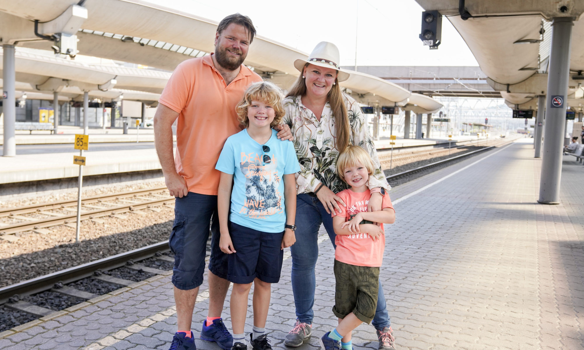 The Norwegian Travel Family